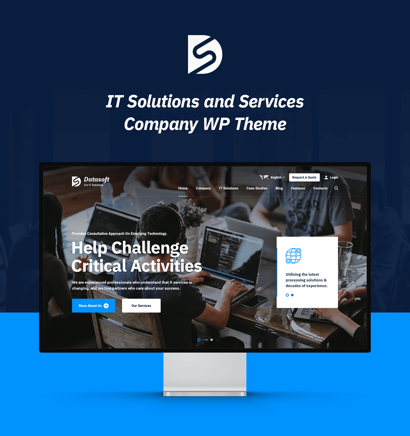 Datasoft - IT Solutions & Services WordPress Theme - 5