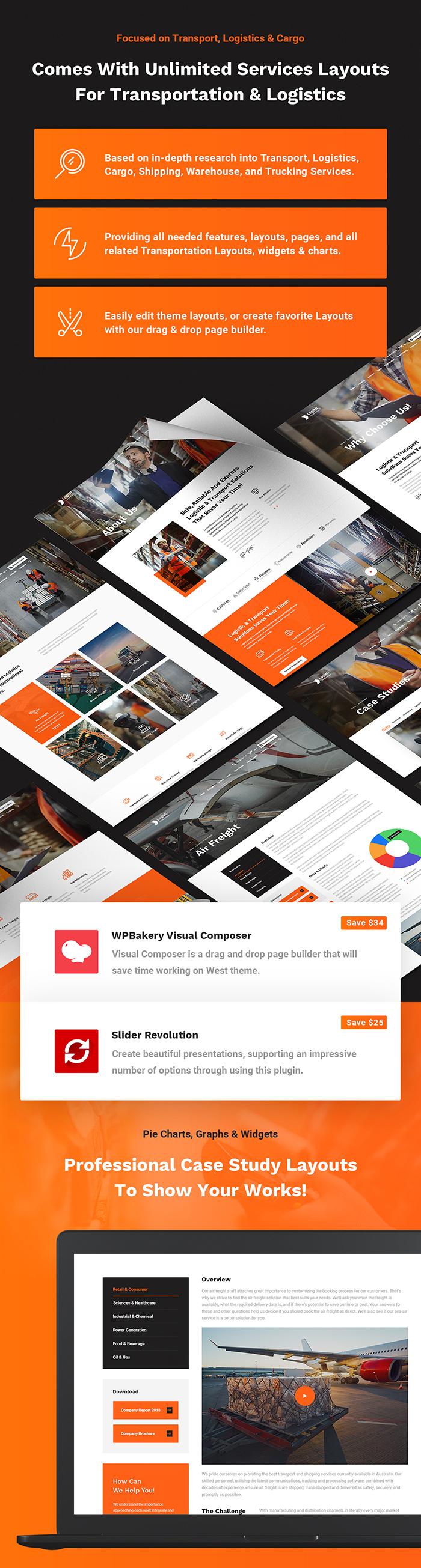 Logisti - Logistics & Transport WordPress Theme - 7