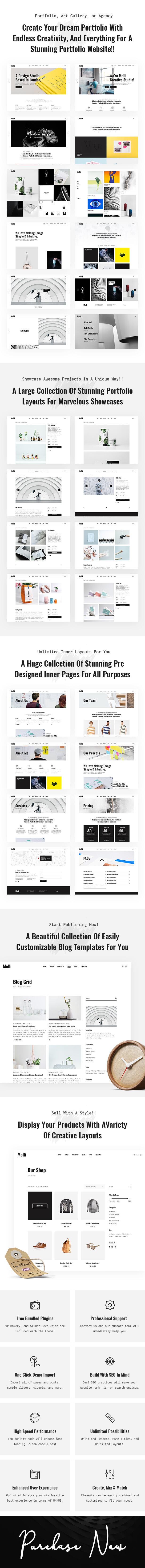 Molli - Creative Portfolio & Agency Theme - 5