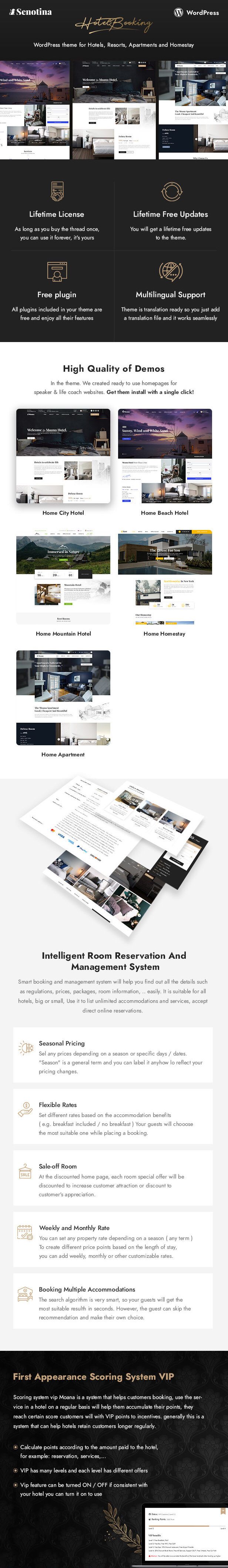 Senotina - Resort and Hotel WordPress Theme - 5