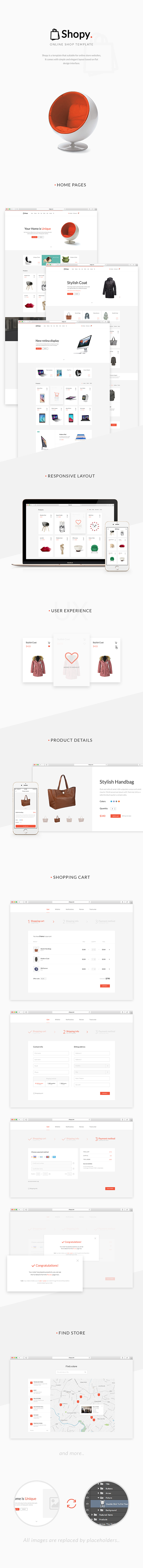 WordPress主題 Shopy 電子商務服裝零售WooCommerce在線銷售漢化主題[更新至v1.0.2]