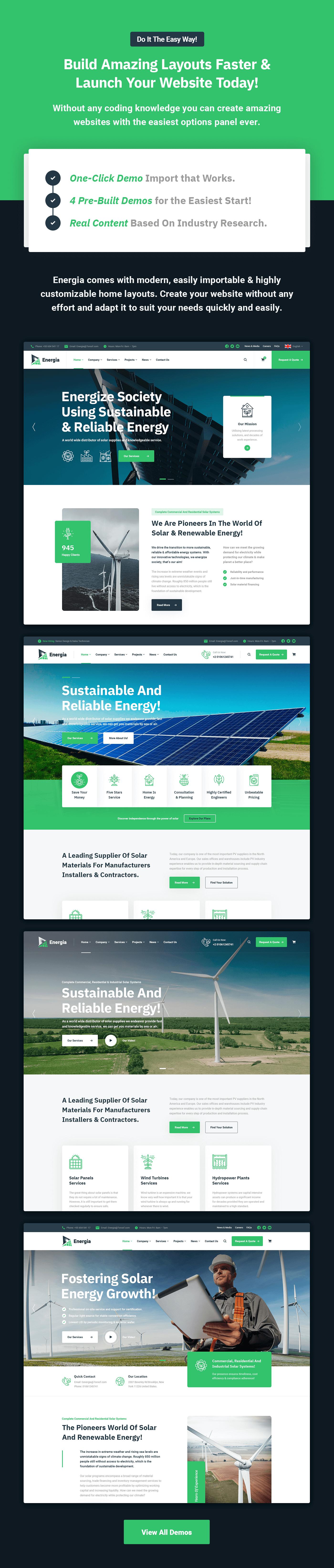 Energia - Renewable Energy WordPress Theme - 6