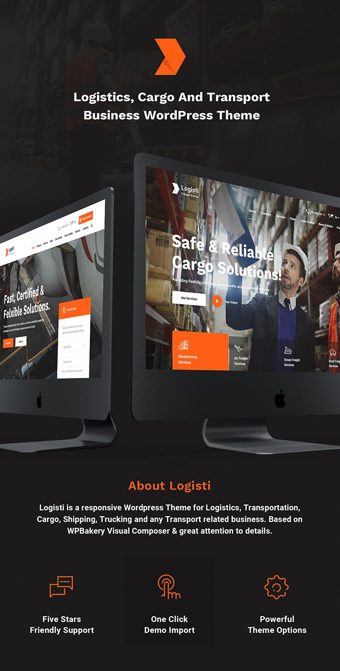Logisti - Logistics & Transport WordPress Theme - 5
