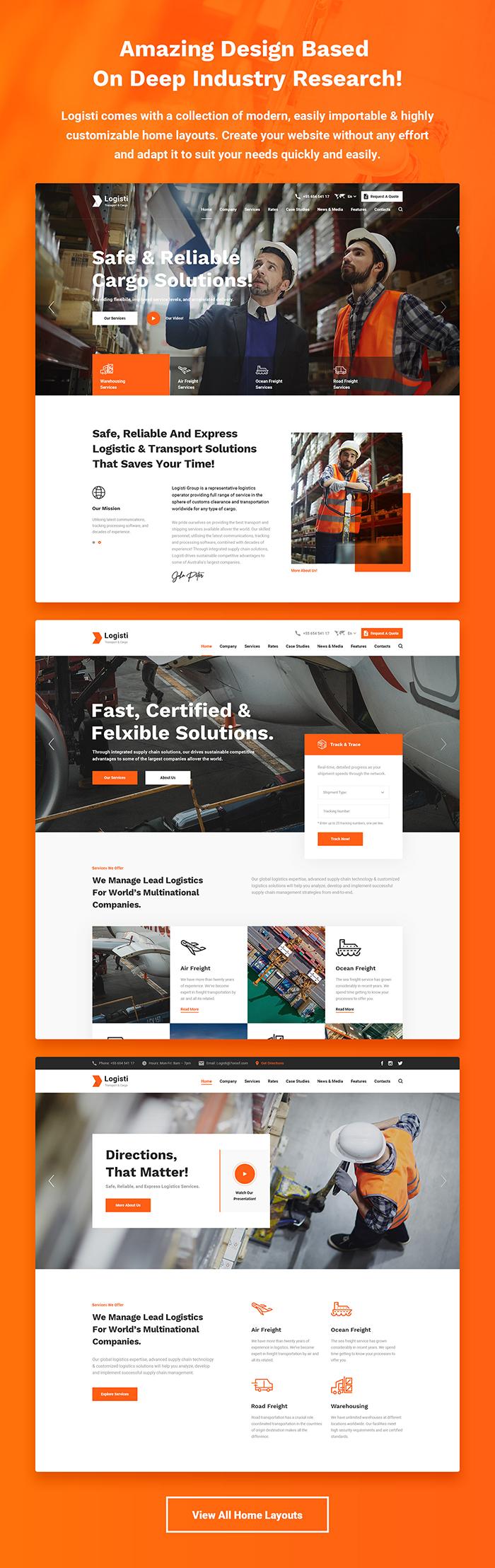 Logisti - Logistics & Transport WordPress Theme - 6