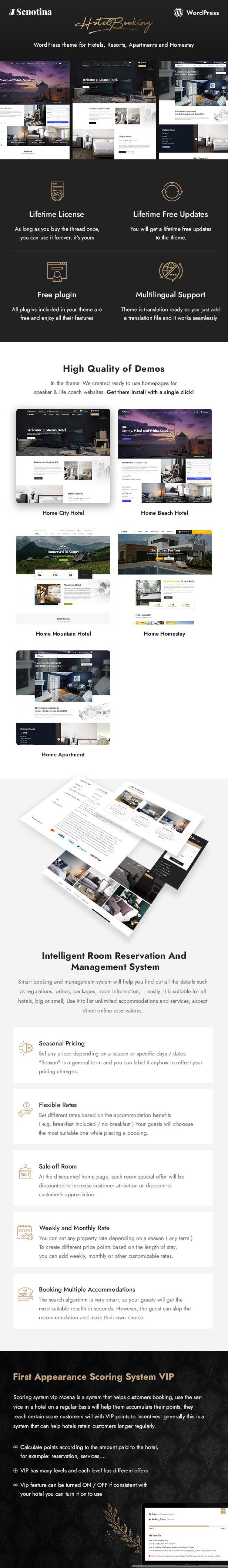 Senotina - Resort and Hotel WordPress Theme - 5