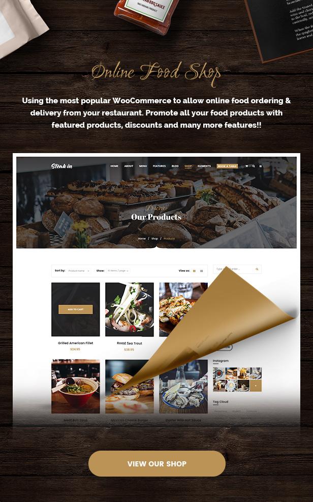Steak In - Restaurant & Cafe WordPress Theme - 5